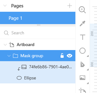 A mask group